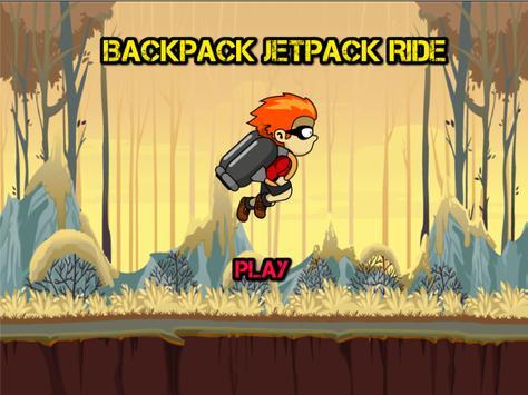 Backpack Jetpack Ride poster
