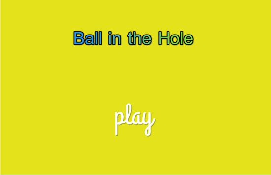 Ball in the Hole apk screenshot