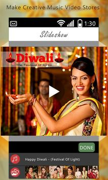 Diwali Video Maker With Music 2017 poster