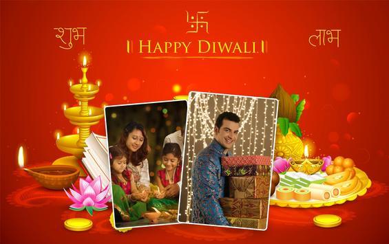 Diwali Dual Photo Frames screenshot 1