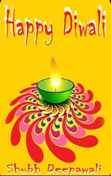 Diwali SMS poster