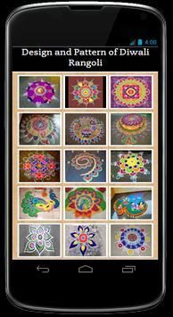 Design and Pattern of Diwali Rangoli screenshot 1