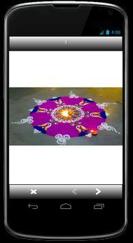 Design and Pattern of Diwali Rangoli screenshot 3