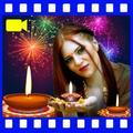 Diwali Video Maker: photo frames and Greetings