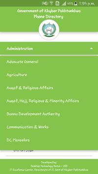 KP Phone Directory screenshot 2