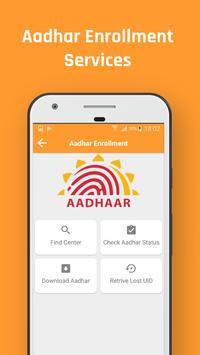 Aadharcard Online Services screenshot 2