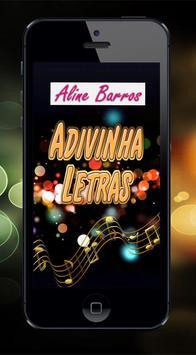 Adivinha Letras Aline Barros poster