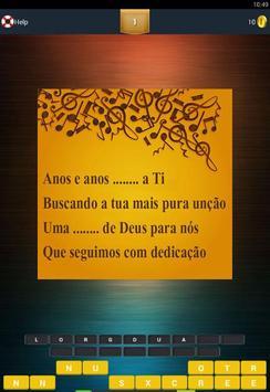 Adivinha Letras Aline Barros apk screenshot