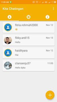 Kita Chatingan apk screenshot