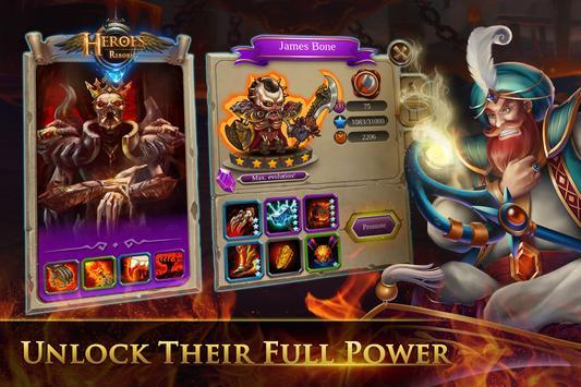 Heroes Reborn: Tactic Strategy PvP apk screenshot