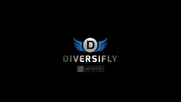 Diversifly VR poster