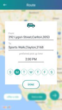 Mobi - Ridesharing for commuters screenshot 3