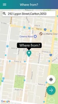 Mobi - Ridesharing for commuters screenshot 1