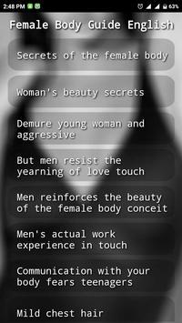 Female Body Secret English apk screenshot
