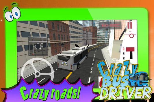 Crazy Bus Driver 3D Simulator screenshot 14