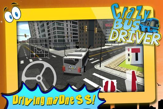 Crazy Bus Driver 3D Simulator screenshot 10