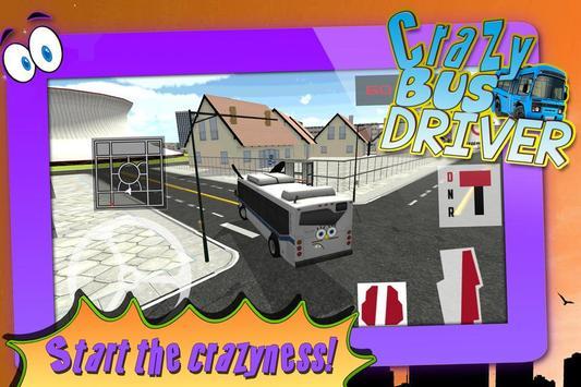 Crazy Bus Driver 3D Simulator screenshot 11