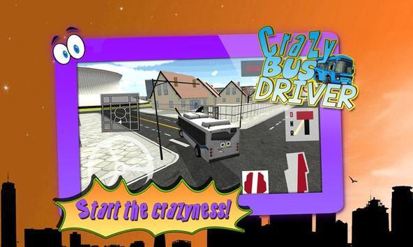 Crazy Bus Driver 3D Simulator screenshot 1