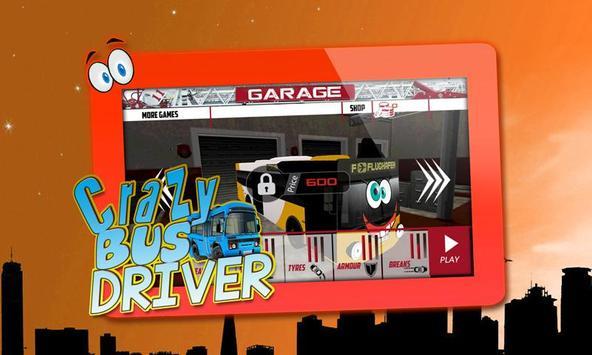 Crazy Bus Driver 3D Simulator screenshot 3