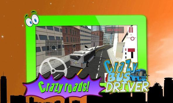 Crazy Bus Driver 3D Simulator screenshot 4