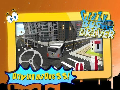 Crazy Bus Driver 3D Simulator screenshot 5
