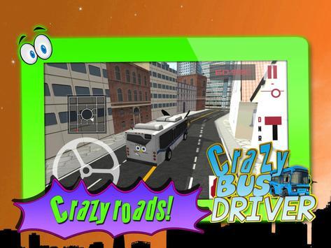 Crazy Bus Driver 3D Simulator screenshot 9