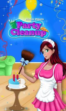 Hidden Objects - Party Cleanup poster