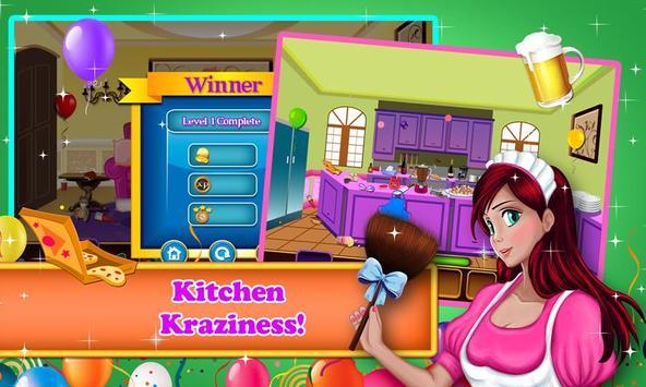 Hidden Objects - Party Cleanup apk screenshot