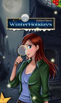 Hidden Objects Winter Holidays poster