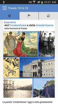 Trieste 1914-18 poster