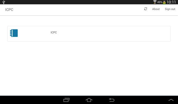 ICPC apk screenshot