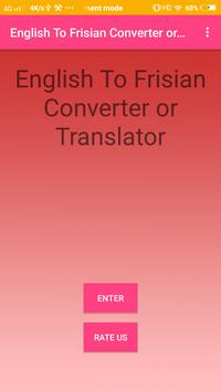 English To Frisian Converter or Translator screenshot 3