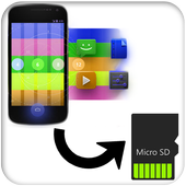 App to SD card icon