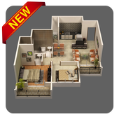 Apartment Floor Plan Design icon