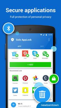 Solo AppLock-DIY&Privacy Guard apk screenshot
