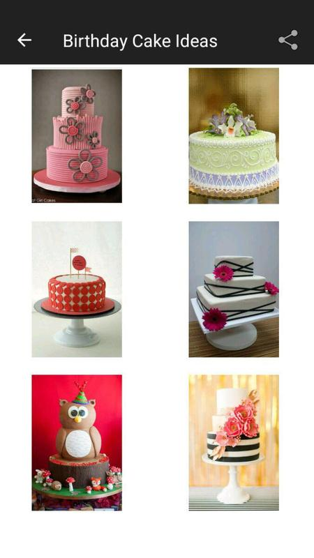100 Birthday Cake Design Ideas Poster