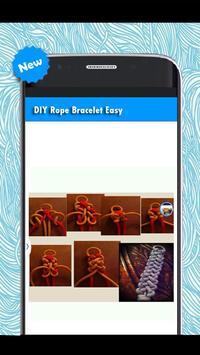 DIY Bracelet Rope Easy apk screenshot