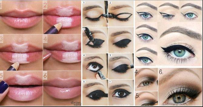 DIY makeup tutorials screenshot 1