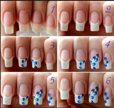 DIY nail art tutorials poster
