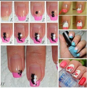 DIY nail art tutorials apk screenshot