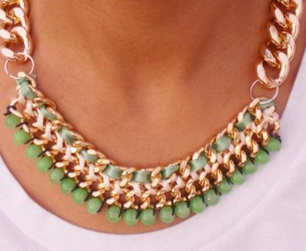 DIY Necklace Design Ideas apk screenshot