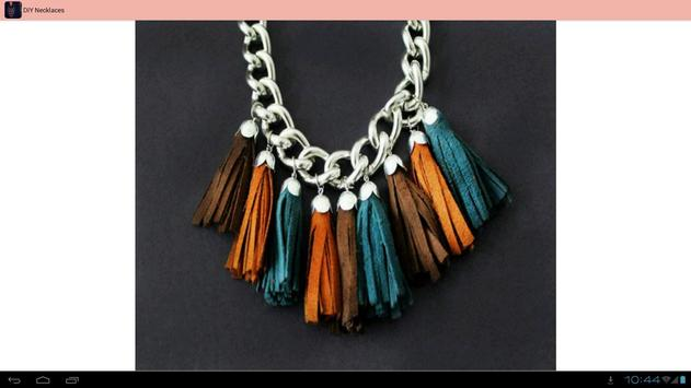 DIY Necklaces Ideas apk screenshot
