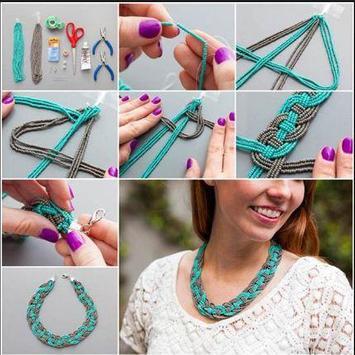 DIY necklace tutorials screenshot 2
