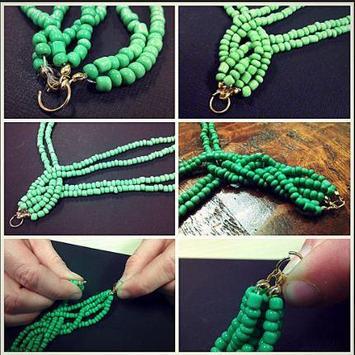 DIY necklace tutorials screenshot 5