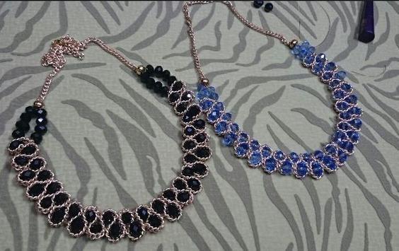 DIY necklace tutorials screenshot 1