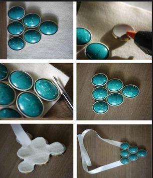 DIY necklace tutorials poster