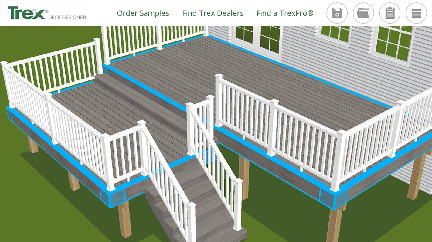 Trex deck designer apk download free lifestyle app for for Online deck designer tool