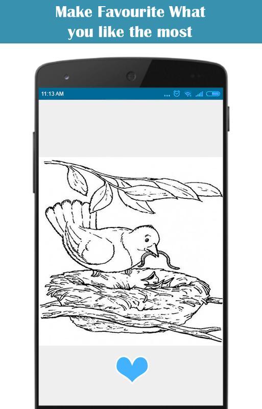 Increíbles libros para colorear de naturaleza for Android - APK Download