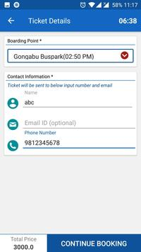 BusSewa screenshot 3