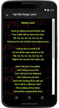 Bon Iver Song Lyrics screenshot 3